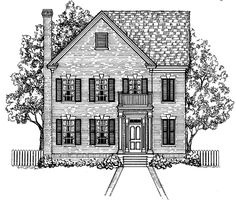 Eplans Georgian House Plan - Four Bedroom Georgian - 2368 Square Feet and 4 Bedrooms from Eplans - House Plan Code HWEPL64427