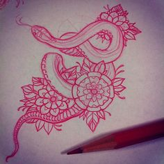 Snakes #tatto #@thedrowntown's photo: