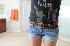 like the shorts & belt