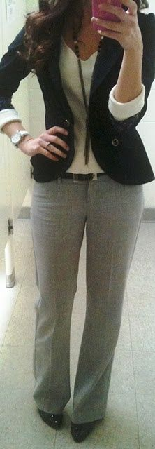 Office Chic.- cute business casual!