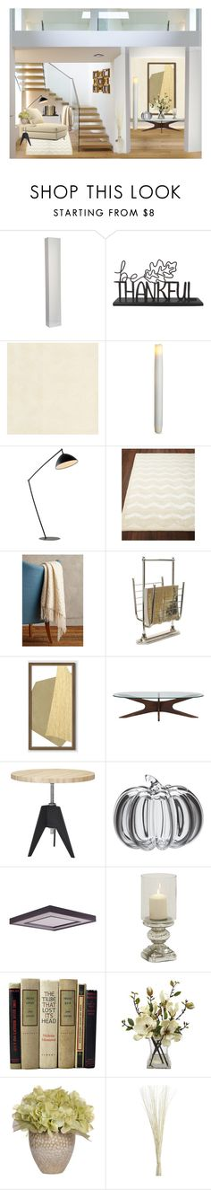 """Relaxing Corner"" by kwaldrip ❤ liked on Polyvore featuring interior, interiors, interior design, home, home decor, interior decorating, Versace, Order Home Collection, Ralph Lauren Home and Anthropologie"
