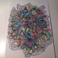 just another colorful doodle #draw #design #doodle #derwent #doodles #drawing #doodleart #zenart #zentangle #zentangleart #pen #ink #instaart #freehand #art_we_inspire #art #drawingbyme
