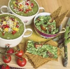 Raw Gazpacho Soup