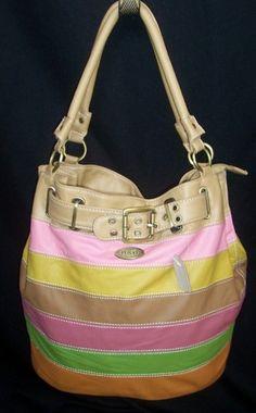Dolce & Gabbana striped bag