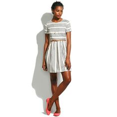 adore this striped dress from madewell http://coolfashionstylely.tumblr.com/1
