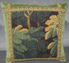 Antique French 18th Century Hand Woven Wool by FromAFrenchAttic, £65.00