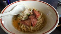 中華そば とものもと 鶏油そば 豚めし ¥500、¥200