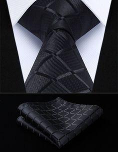 Classic Black Square - w/ Pocket Squares