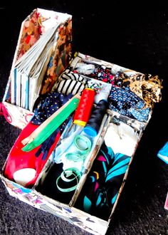 Ingenio DIY: Como hacer un organizador con material reciclable