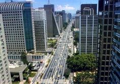 Avenida Paulista one of the famous places of São Paulo city