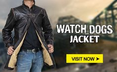 Best deal on #Watchdogs Coat now far from just one click. #Ubisoft #Games #jackets #outfits