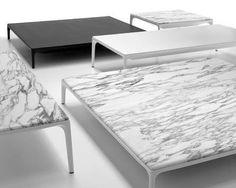 mesa de centro moderna YALE by J.M.Massaud MDF Italia