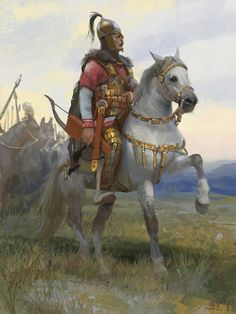 """""""Scourge of god"""" Attila Character Inspiration, Character Art, Attila The Hun, Rome Antique, Photo Grid, Sword And Sorcery, Historical Art, Dark Ages, Medieval Fantasy"""