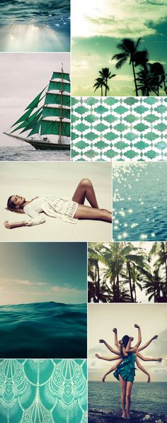 paper social: MOOD BOARD // PURE SHORES. Some beautiful images in this cluster.