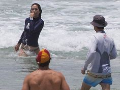 Crown Prince Frederik and Crown Princess Mary of Denmark, Prince Christian and Princess Josephine on the Beach of Mermaid in Queensland, Australia. The Danish Royal family are in Australia for Christmas.