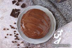 Mindenmentes mokkatorta (cukor-, glutén-, tej-, tojás-, olajos mag mentes, vegán) - Nóri mindenmentes konyhája Sin Gluten, Cake Recipes, Vegan Recipes, Tej, Cukor, Stevia, Peanut Butter, Paleo, Pudding