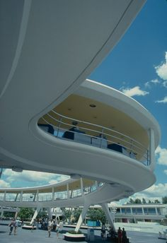 Wedway People Mover in Tomorrowland at the Maigc Kingdom in Walt Disney World