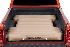 Air mattress in truck bed that's what I'm talkin about