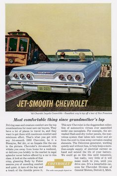 1963 Chevrolet Ad-09   Owned one...mine was blue and 3 on the tree.