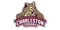 College of Charleston Cougars Primary Logo on Chris Creamer's Sports Logos Page - SportsLogos. A virtual museum of sports logos, uniforms and historical items. College Of Charleston, Charleston Sc, College Campus, College Life, College Letters, Phoenix Design, Minor League Baseball, Indiana State, Perfect Game