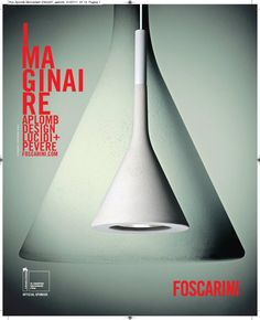 #Aplomb #Foscarini #Press Campaign