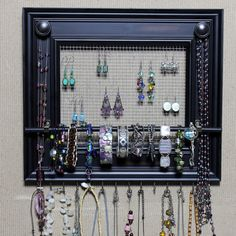 Jewelry Organizer Display Rack Holder Picture by HedcraftFineArt, $64.95