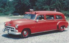 ◆1952 Chevy/ National Ambulance◆