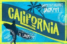 California Jackpot Font by LeoSupply.co on @creativemarket