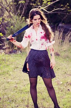 Zombie Slayer Kayleigh Ross Photography
