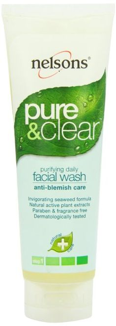 Nelsons Pure and Clear Daily Facial Wash, 4.2 Ounce
