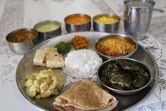 Mini Gujarati Thali Menu 1 - Ideas & Recipes