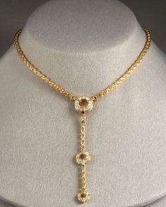 Di Modolo   Metallic Tempia Y Necklace with Detachable Drop   Lyst