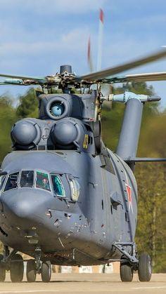 Военно - транспортный вертолёт Ми - 26