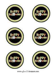 Free printables: Happy Halloween Tags
