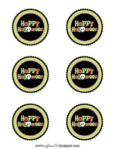 eighteen25: Today's Project: Happy Halloween Tags
