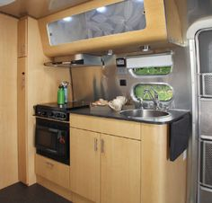 airstream campers remodel | By Christina Nellemann for the [ Tiny House Blog ]