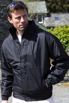 Jachetă de bărbat Channel Result Core din 100% poliester StormDri 2000 acoperit cu PU la exterior. Jachete personalizate: print, broderie