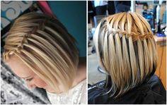 Прически на короткие волосы с косичками | hairwiki.ru