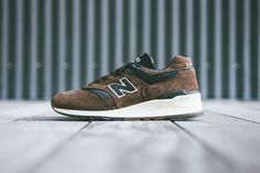 """The latest pair of kicks to join New Balance's ongoing """"Distinct Authors"""" collection is this premium..."""