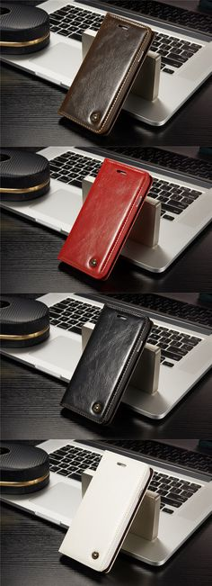 Luxury Leather Case For iPhone - CellGad