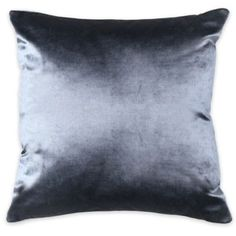 Frette At Home Cupido Lux Square Throw Pillow in Grey - BedBathandBeyond.com