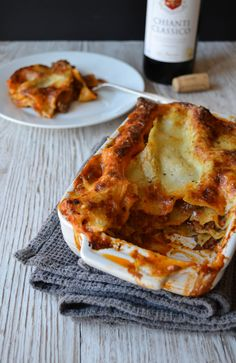 You really can't beat a proper homemade lasagne. It's one of my all time favourite comfort foods. This recipe uses my ultimate ragù alla bolognese sauce, layered with a homemade béchame… Bolognese Sauce, Tasty, Yummy Food, Professional Chef, Food Industry, Recipe Using, Italian Recipes, Homemade, Dishes