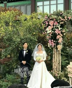 Songsong Couple, Song Joong Ki, Korean Star, Entertaining, Couples, Wedding Dresses, Descendants, Dots, Fashion