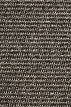 Urbana sisal in Pewter colorway, by Merida.  An innovative sisal treated for fire-, stain-, and liquid-resistance at the fiber level, Urbana sets a new standard for natural durability and beauty--from the hallways of a London-based boutique hotel chain to the flagship stores of one of the fastest-growing women's fashion brands.