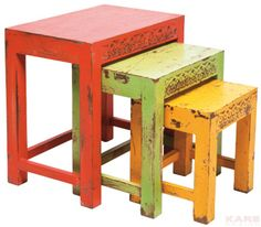 Taberna Side Table (3/Set)