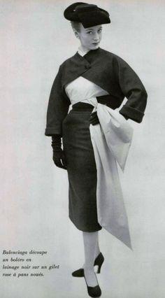 Balenciaga Ensemble, 1951