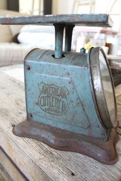 Vintage Farmhouse Scale Prudential Family Scale by NavarreCharm, $48.00