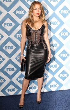 Jennifer Lopez - 2014 Fox All-Star Party (January 13, 2014)