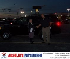 Happy Anniversary to Dominga Brown on your 2010 #Nissan #Pathfinder from Benny Nordin III  and everyone at Absolute Mitsubishi! #Anniversary