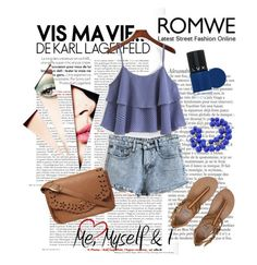 """Romwe 18/20"" by mirelagrapkic ❤ liked on Polyvore featuring Billabong, Dorothy Perkins, LVX and romwe"